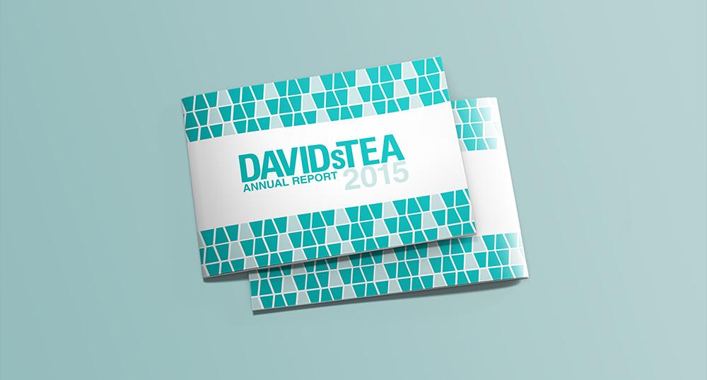DavidsTea Annual Report Cover