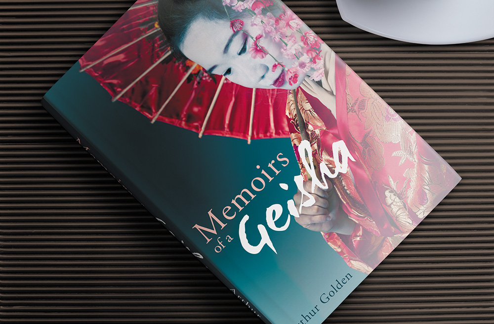 Memoirs of a Geisha Book Jacket Design