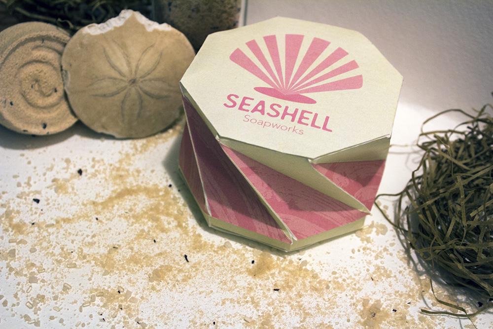 Seashell Soapworks Packaging