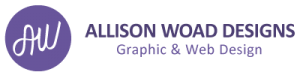 Allison Woad Designs Icon and Wordmark