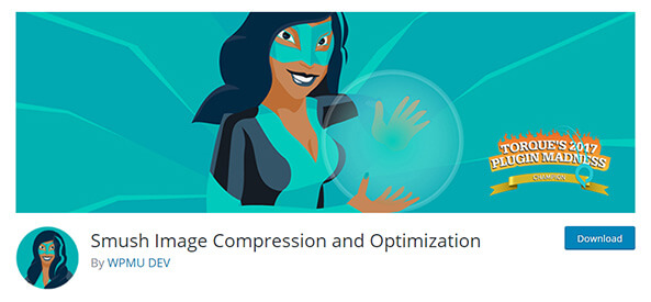WP Smush image compression and optimization plugin