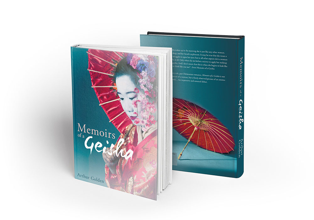 Memoirs of a Geisha Book Standing Up