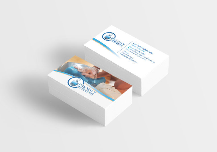 Priority First Aid Business Cards