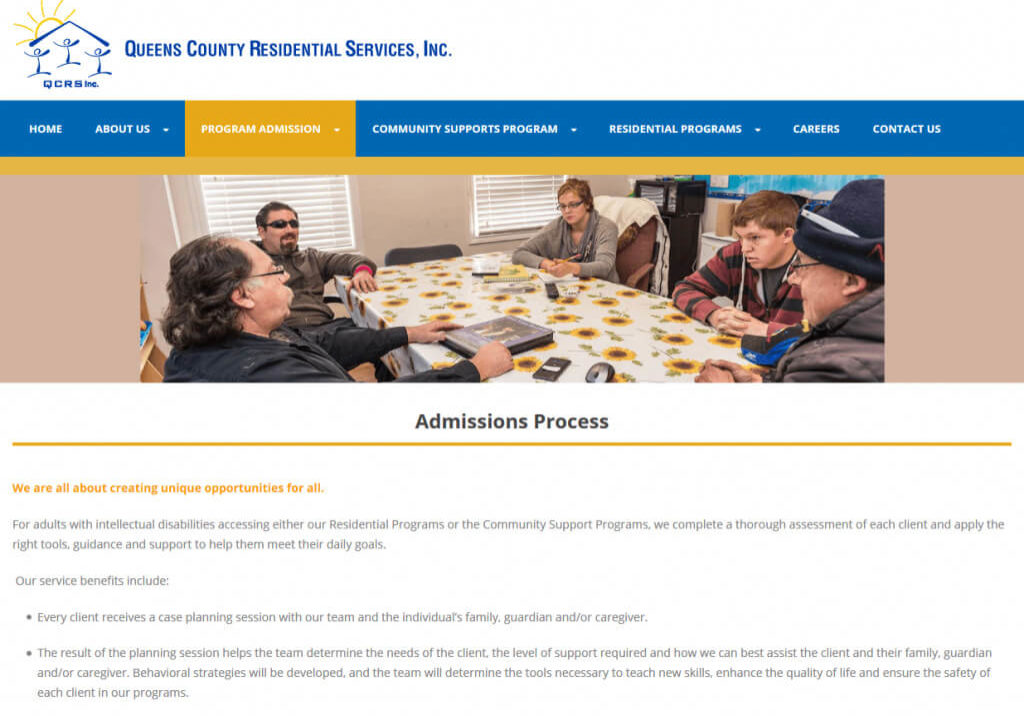 Priority First Aid Training WordPress Website Admissions Process Page