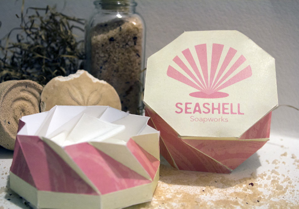 Seashell Soapworks Packaging Open Box