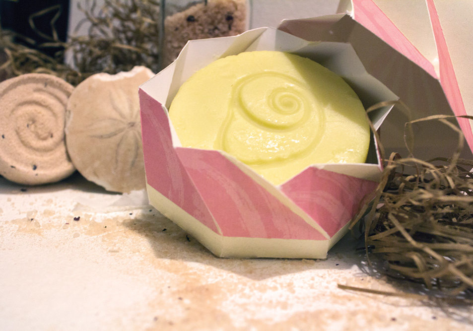Seashell Soapworks Packaging With Soap